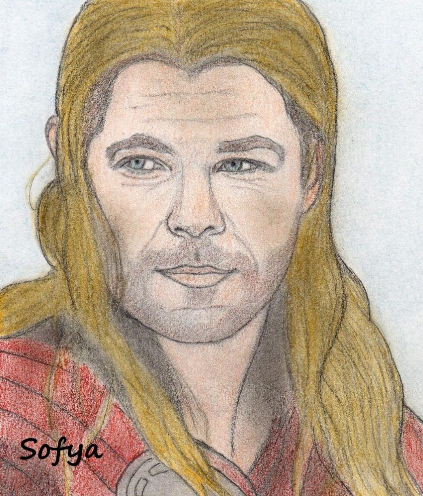 Thor, Chris Hemsworth by Sofya